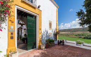 entrada hacienda el santiscal 300x189 - Historia de la Hacienda