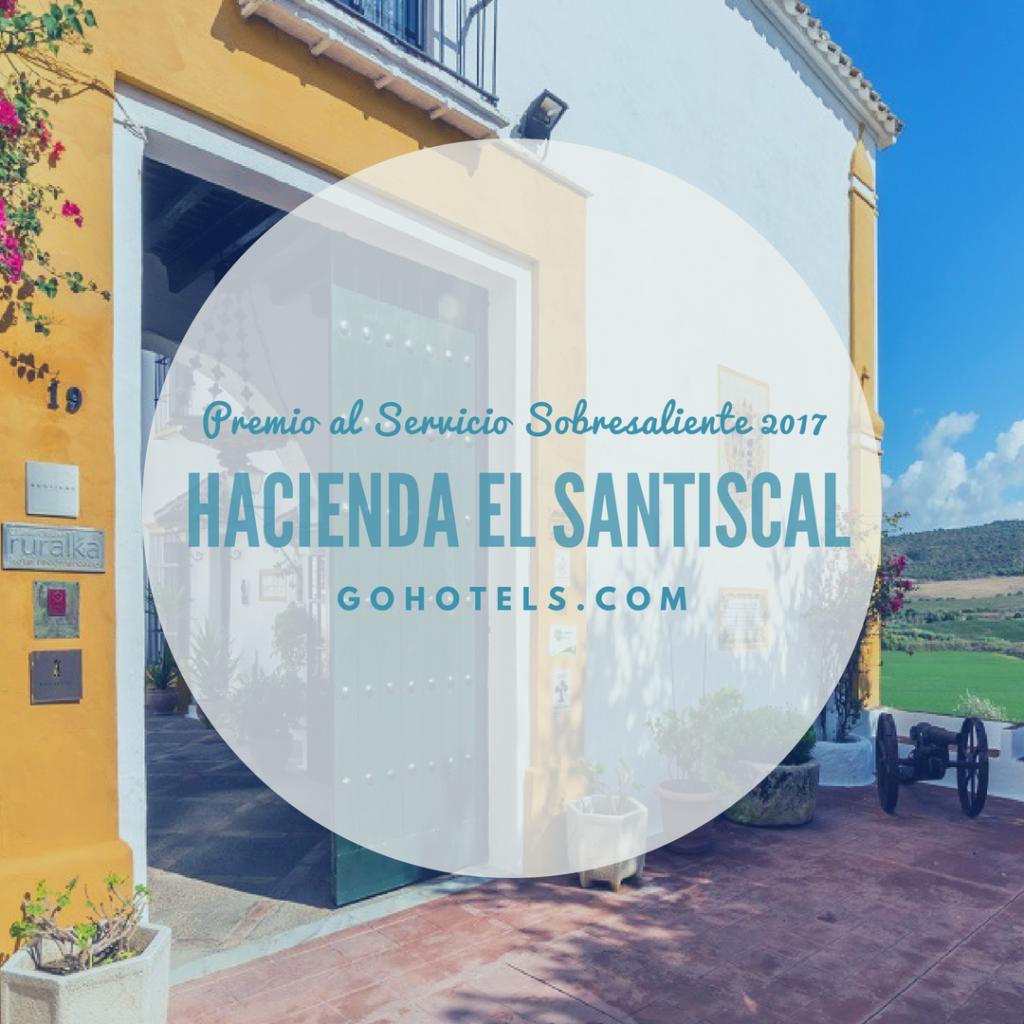 leads to 1024x1024 - Hacienda El Santiscal, Premio al Servicio Sobresaliente de GoHotels