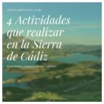 4 Actividades que realizar en la Sierra de Cádiz 150x150 - 4 actividades que realizar en la Sierra de Cádiz