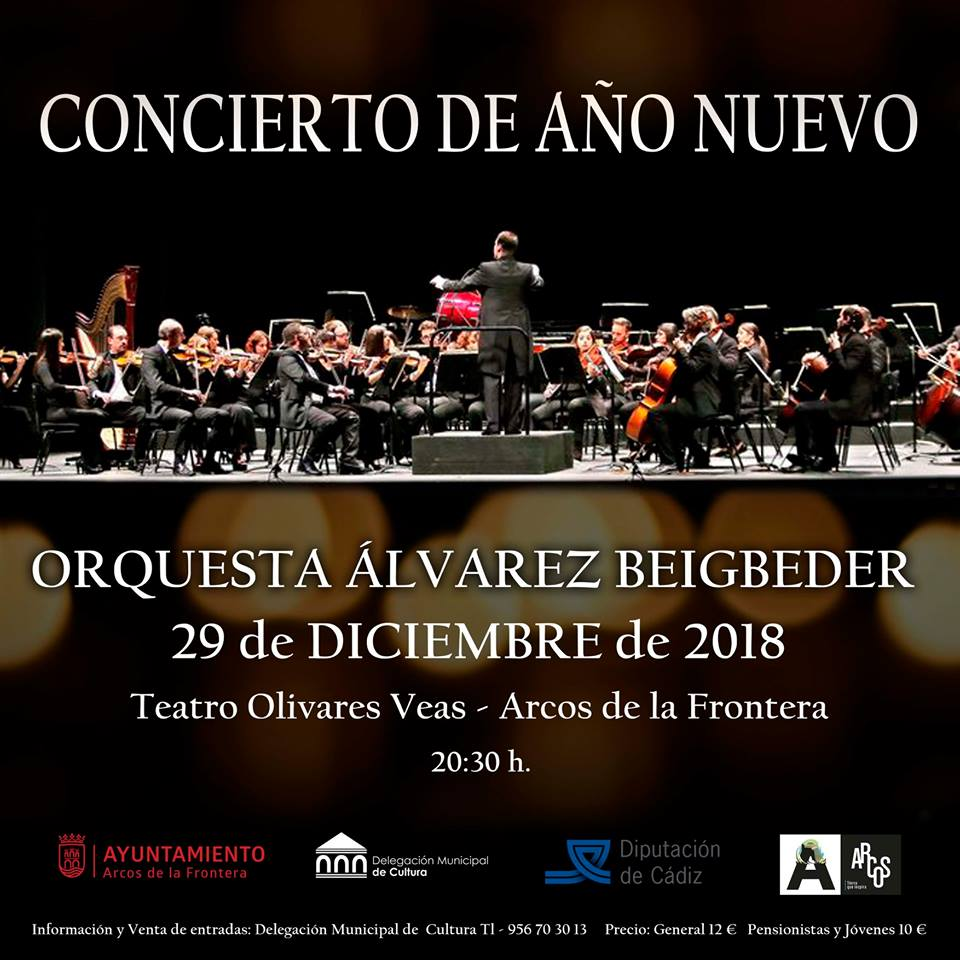 cncierto ano nuevo arcos - Concierto de Año Nuevo En Arcos: Orquesta Álvarez Beigbeder