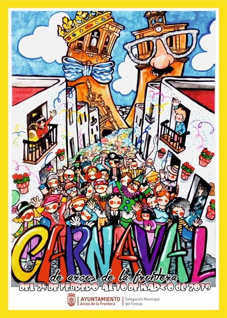 CARTEL CARNAVAL 2019 732x1024 - Carnaval de Arcos de la Frontera 2019