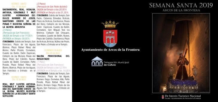 ITINERARIO SEMANA SANTA 2 - Semana Santa en Arcos de la Frontera 2019