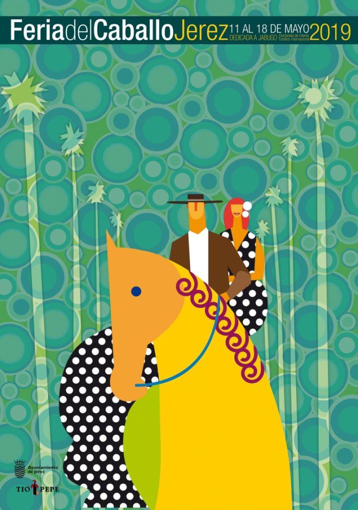 cartel de feria 2019 jerez 719x1024 - Feria del Caballo 2019