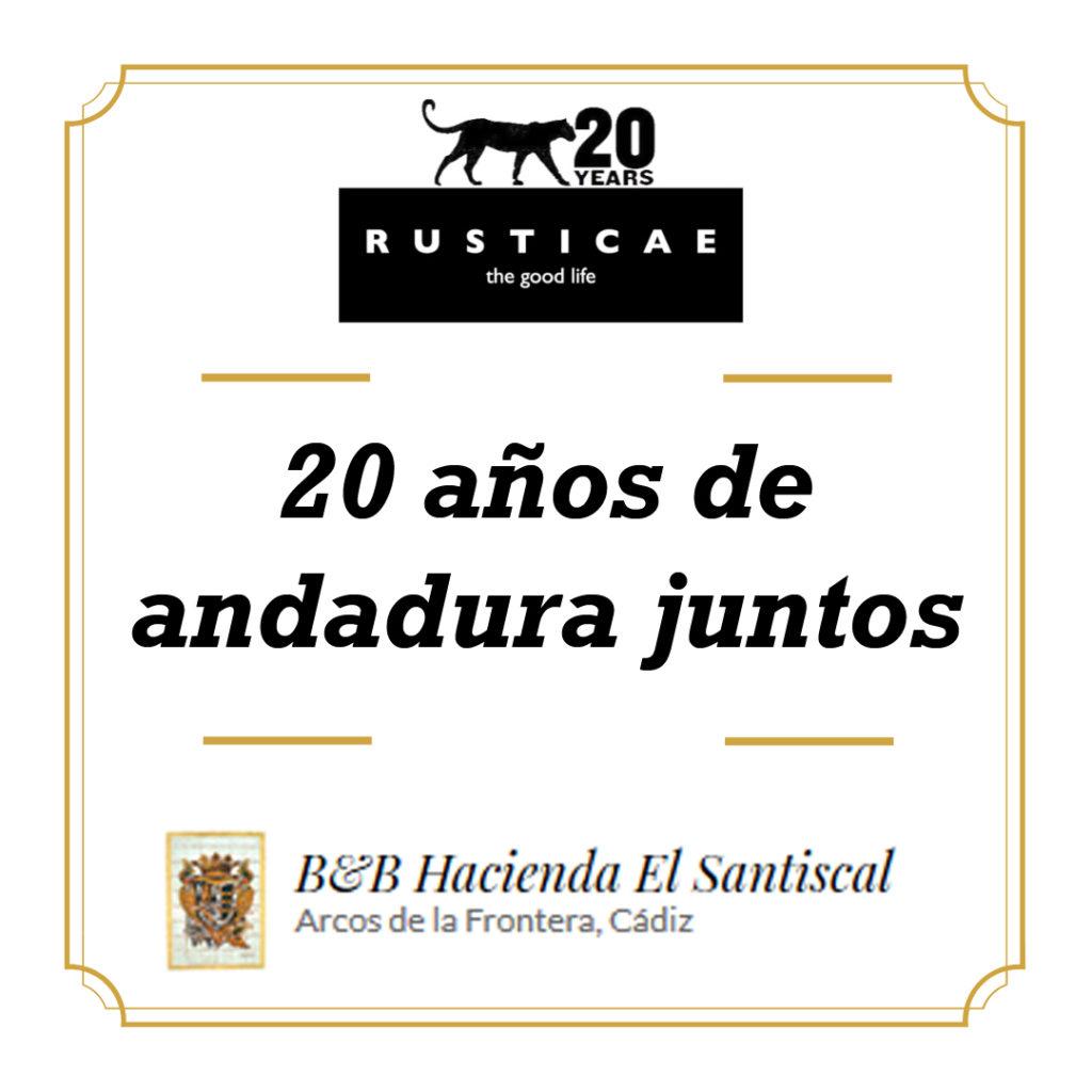 rusticae 1024x1024 - Rusticae y el hotel Hacienda el Santiscal