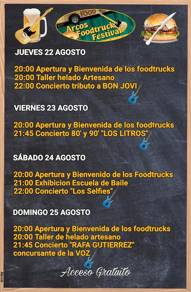 69442981 115531889806683 3447750211923869696 n - Arcos Foodtruck Festival 2019